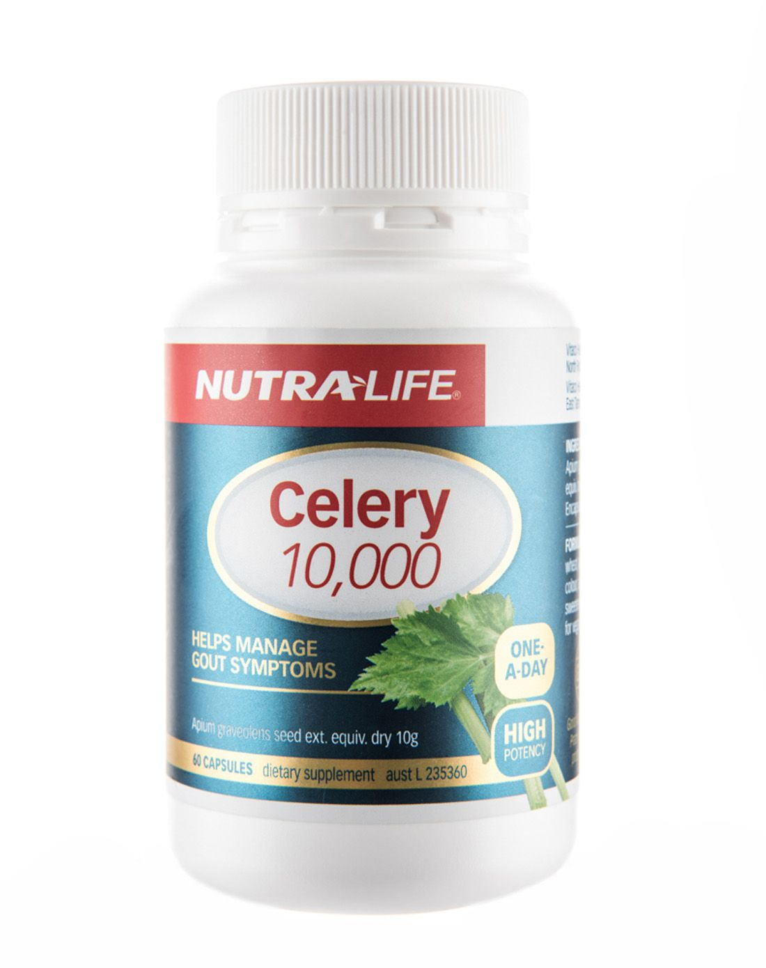 Nutralife Celery 10,000 One a Day