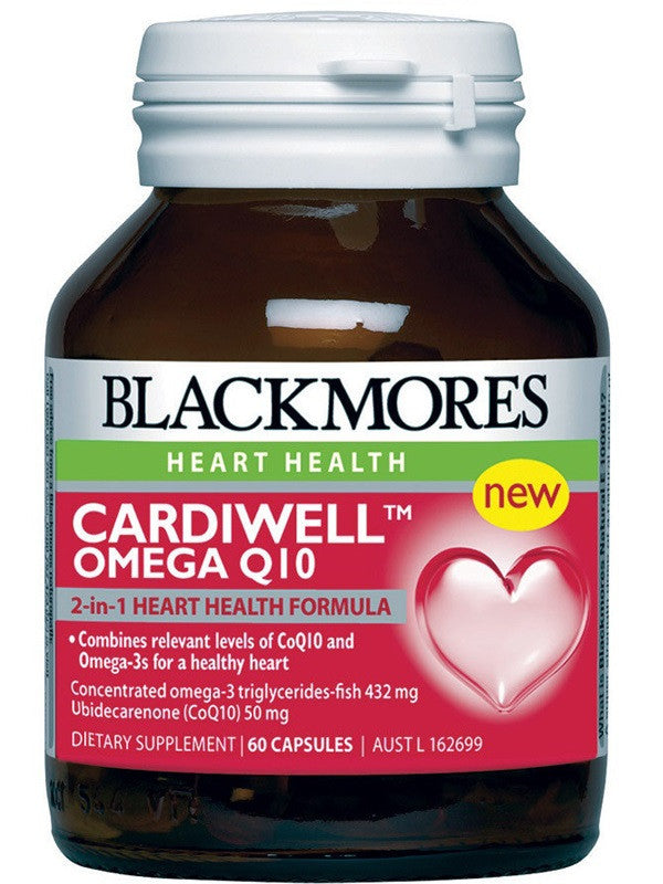 Blackmores Cardiwell Omega Q10