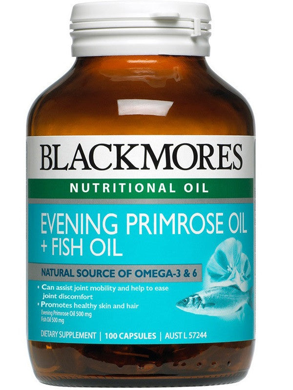 Blackmores EPO + Fish Oil