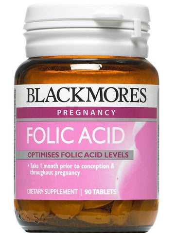 Blackmores Folic Acid 500mcg