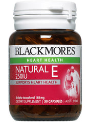 Blackmores Natural E 250IU