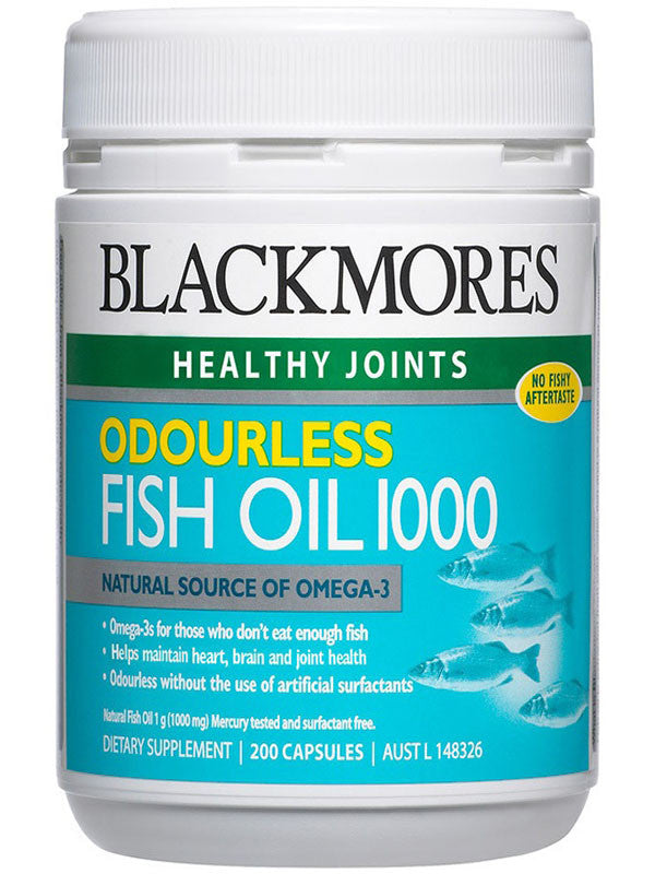 Blackmores Odourless Fish Oil 1000mg