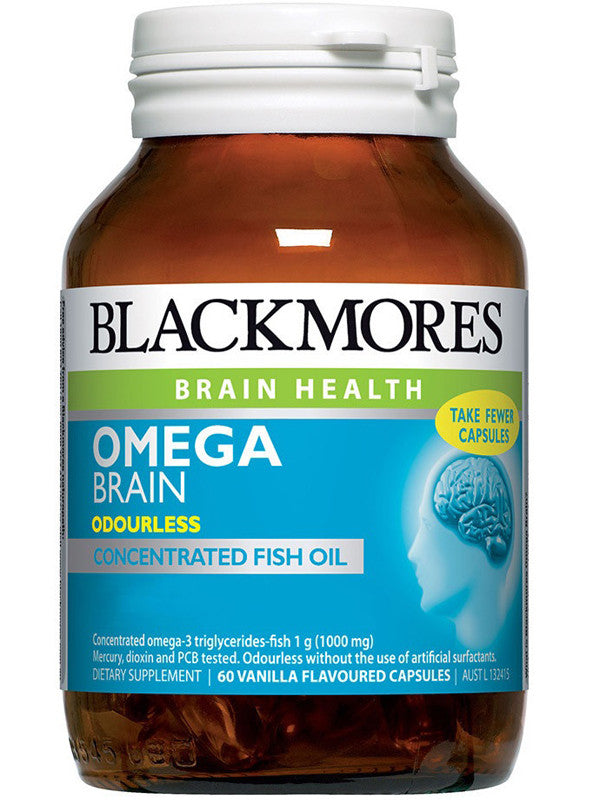 Blackmores Omega Brain (4 x Strength DHA Capsules)