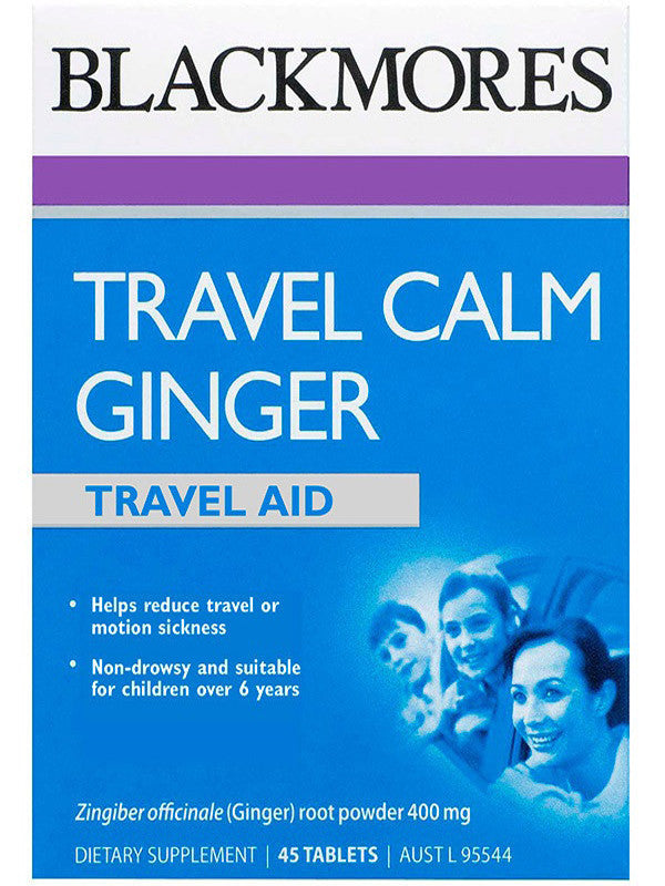 Blackmores Travel Calm Ginger