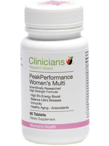 Clinicians Peak Performance Women's Multi