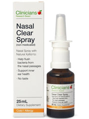 Clincians Nasal Clear Spray (Non Medicated)