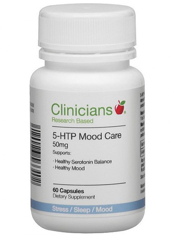 Clinicians 5-HTP Mood Care 50mg