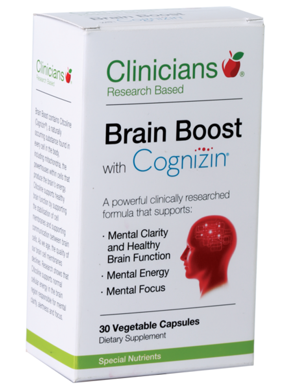 Clinicians Brain Boost with Cognizin