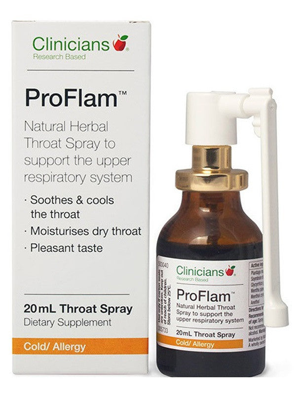 Clinicians ProFlam Throat Spray