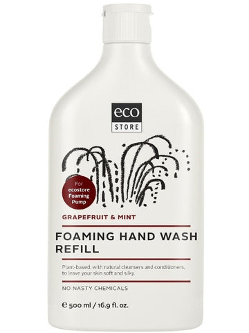 Ecostore Foaming Hand Wash - Grape Fruit and Mint 500ml