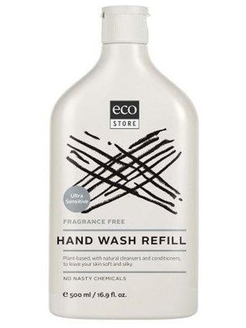 Ecostore Fragrance Free Hand Wash  500ml