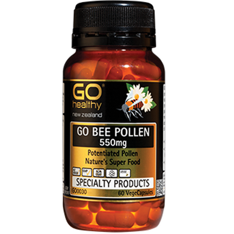 GO Healthy Bee Pollen 550mg