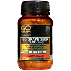 GO Healthy Grape Seed 30,000mg