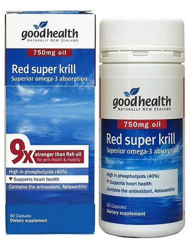 Good Health Red Super Krill 750mg
