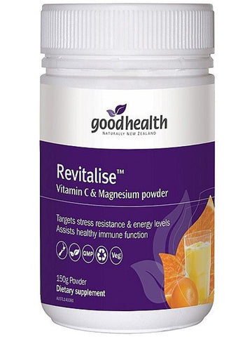 Good Health Revitalise C and Magnesium Powder