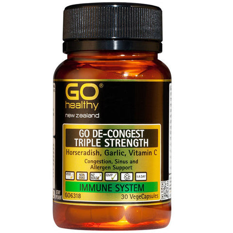 GO Healthy De-Congest Triple Strength