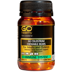 GO Healthy Colostrum Chewable Bears