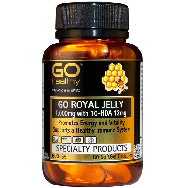 GO Healthy Royal Jelly 1000mg 10-HAD 12