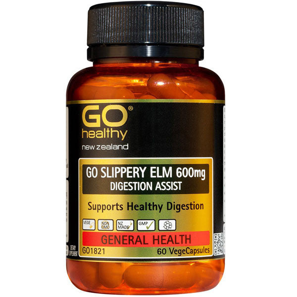 GO Health Slippery Elm 600mcg