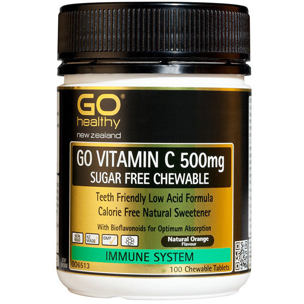 GO Healthy Vitamin C 500mg Chewable