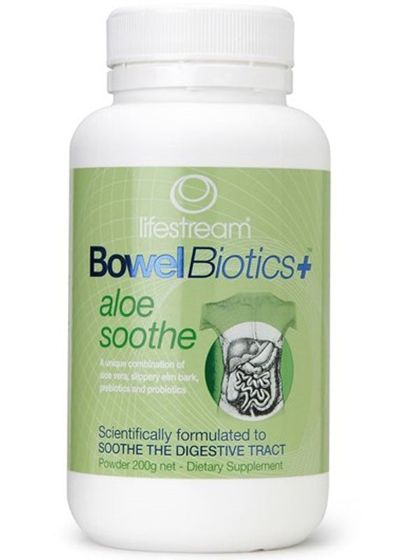 Lifestream Bowelbiotics + Aloe Soothe Powder