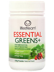 Lifestream Essential Greens + Powder