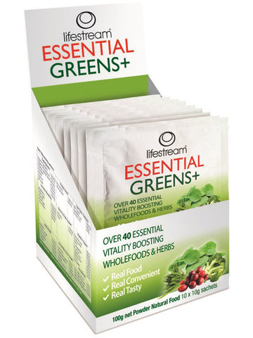 Lifestream Essential Greens Sachets