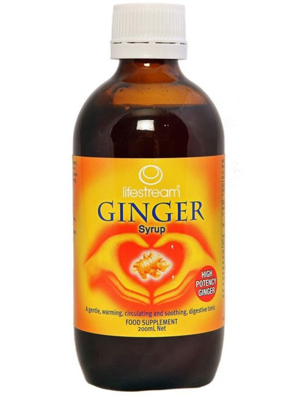 Lifestream Ginger Syrup