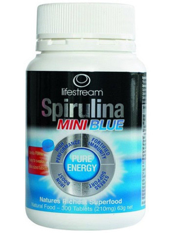 Lifestream Spirulina Blue Mini 200mg