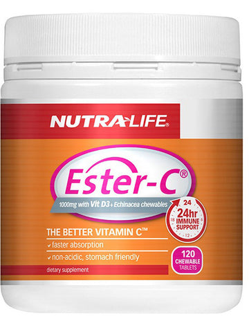 Nutralife Ester C 1000mg with Vitamin D3 Echinacea
