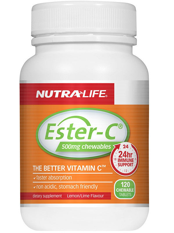 Nutralife Ester C 500mg Lemon Lime