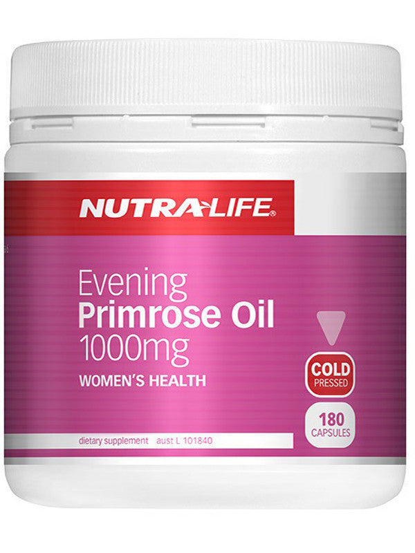 Nutralife Evening Primrose Oil 1000mg