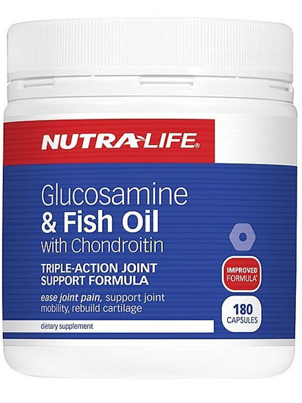 Nutralife Glucosa Fish Oil with Chondroitin