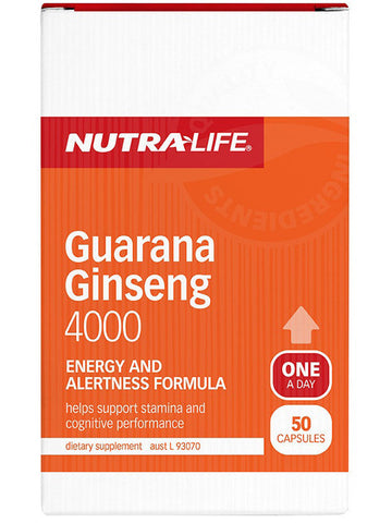 Nutralife Guarana Ginseng 4000