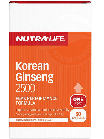 Nutralife Korean Ginseng 2500