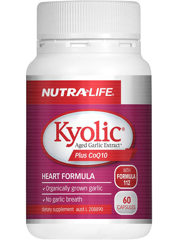 Nutralife Kyolic Aged Garlic Extract High Potency Plus CoQ10