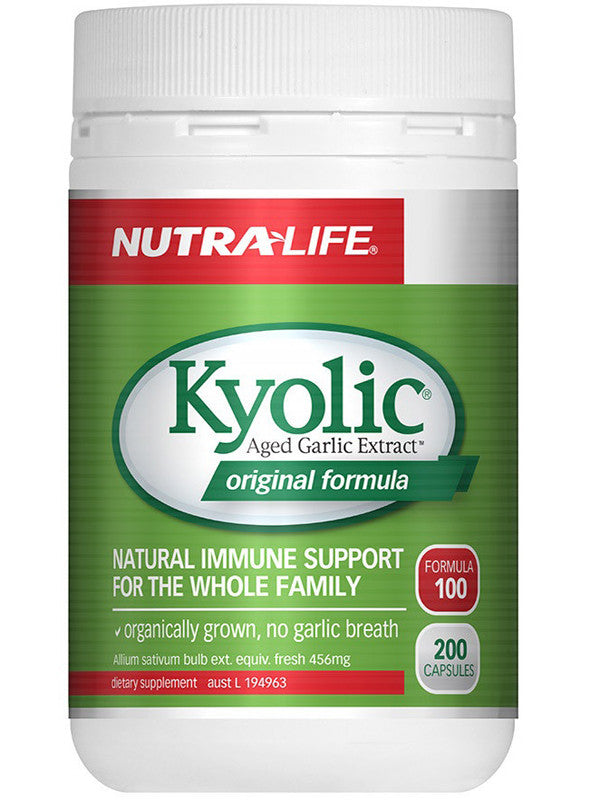 Nutralife Kyolic Aged Garlic Extract Original 100