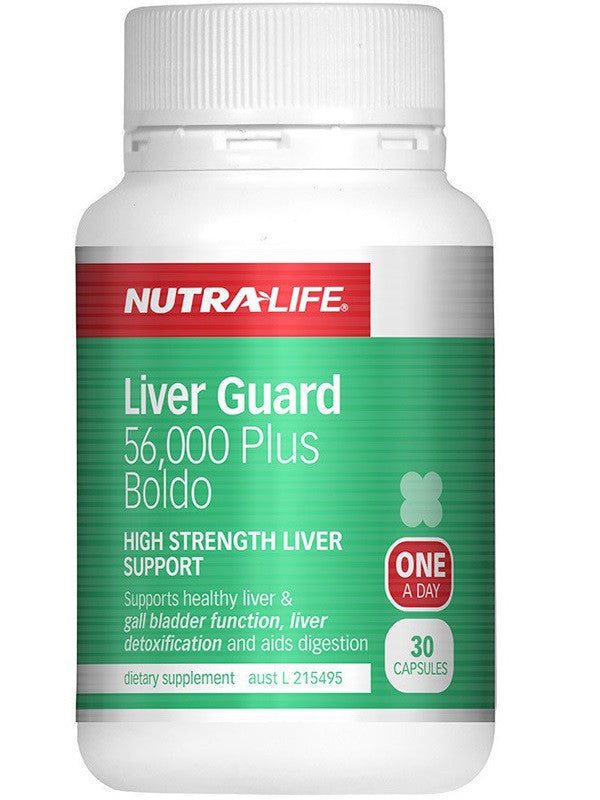 Nutralife Liver Guard 56000 Plus Boldo