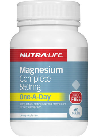 Nutralife Magnesium Complete 550mg One-a-Day