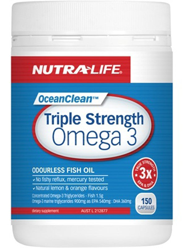 Nutralife OceanClean Triple Strength Omega 3