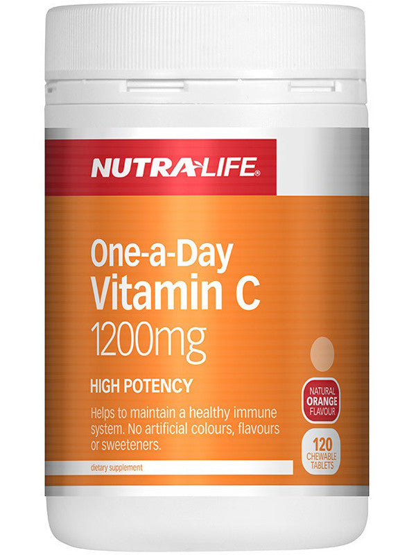 Nutralife One-a-Day Vitamin C 1200mg