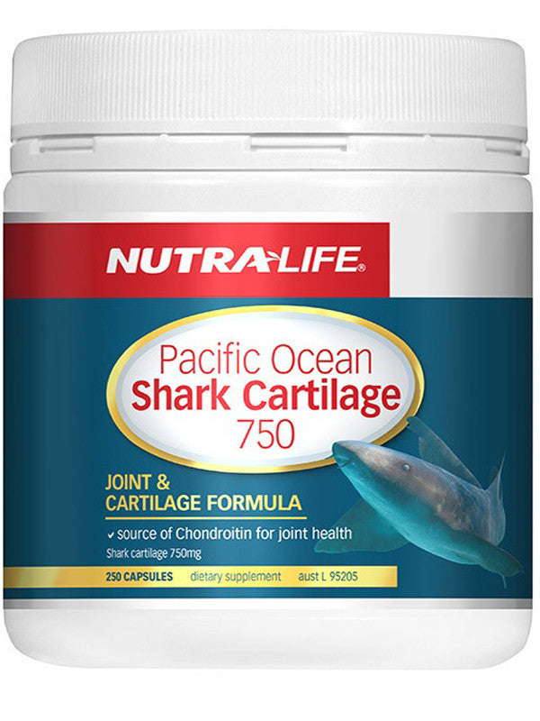 Nutralife Pacific Ocean Shark Cartilage 750mg