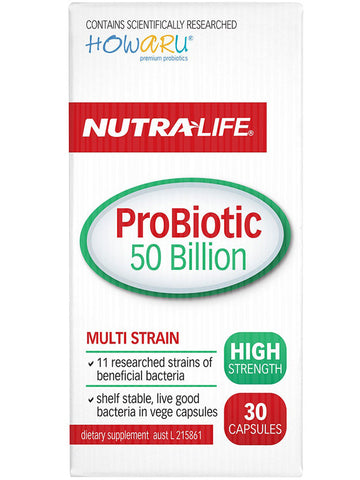 Nutralife ProBiotic 50 Billion High Strength