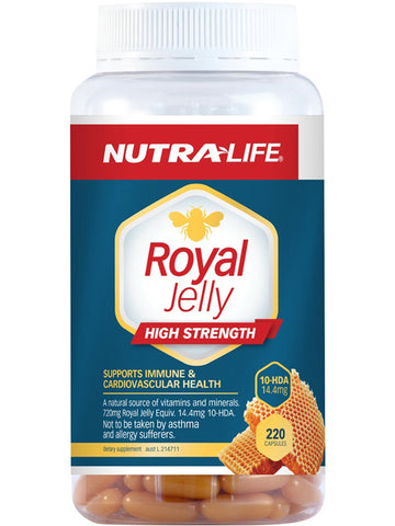 Nutralife Royal Jelly High Strength