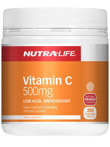 Nutralife Vitamin C 500mg