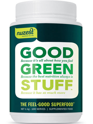 Nuzest Good Green Stuff Superfood (FREE DELIVERY for 600g and above)