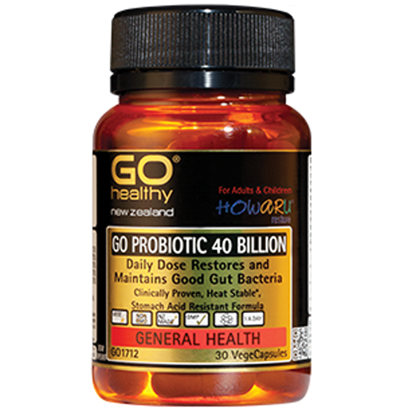 GO Healthy Probiotic 40 billion