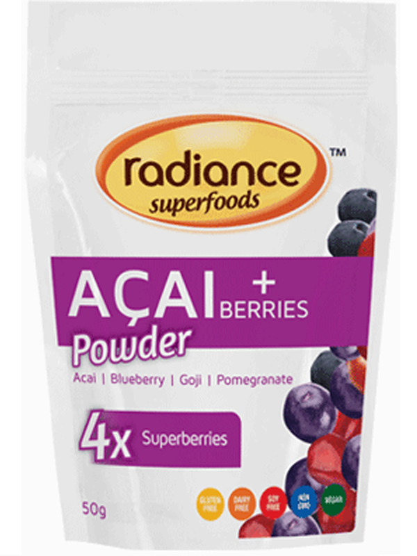 Radiance Acai + Berries Powder 50g