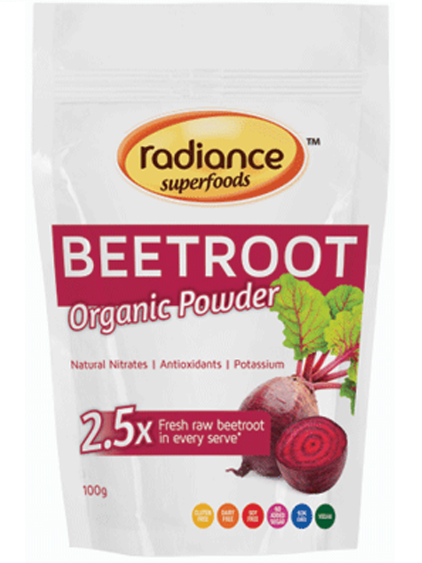 Radiance Superfoods Organic Beetroot Powder 100g
