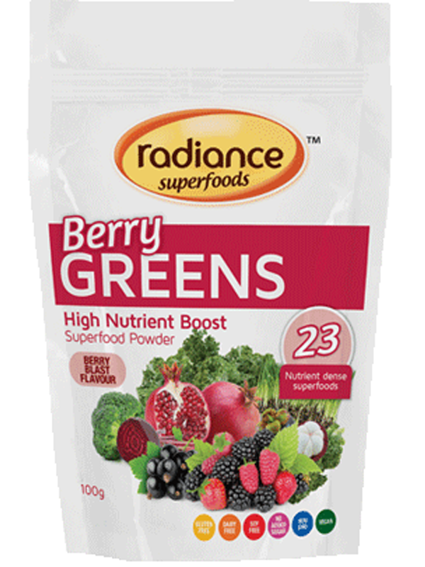 Radiance Super Foods Berry Green Powder